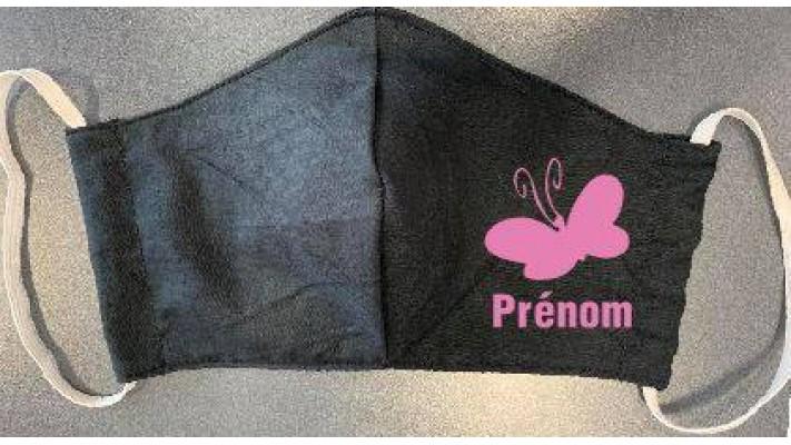 Masques  / Papillon avec Prénom