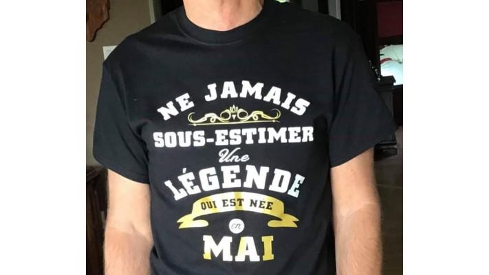 Ne jamais sous-estimer une légende qui est née en ......
