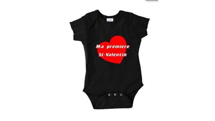 Cache Couche Ma première St-Valentin