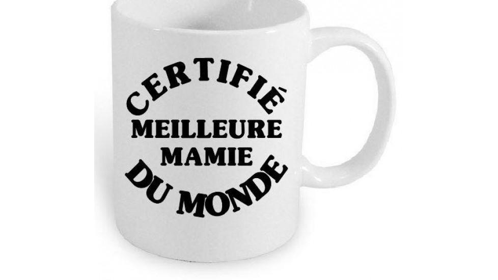 Certifié Meilleure Mamie du Monde